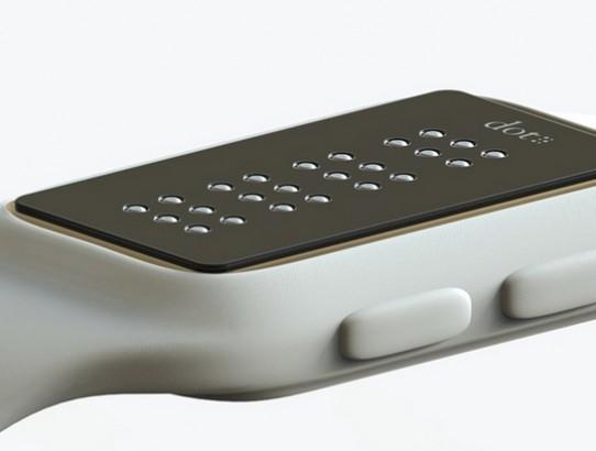 Dot apresenta o primeiro smartwatch do mundo com textos em Braille.