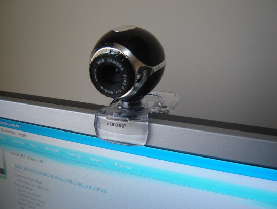 Como usar a webcam do computador como câmera de segurança?