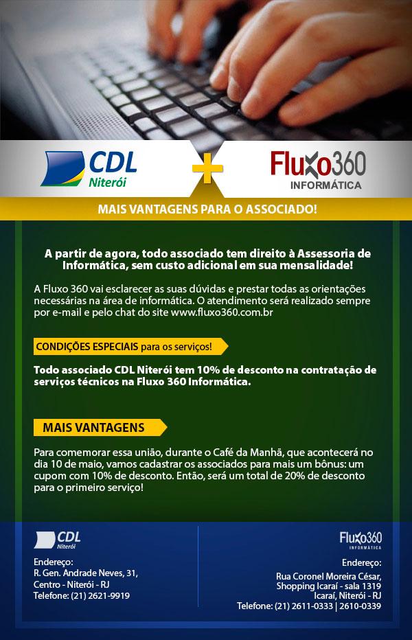 Parceria Fluxo 360 e CDL Niterói