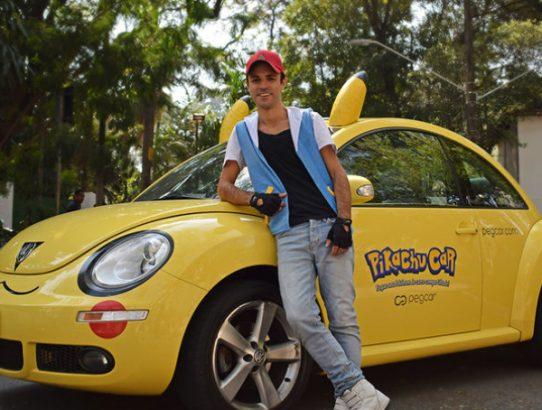 Motoristas faturam com o Pokémon Go no Brasil